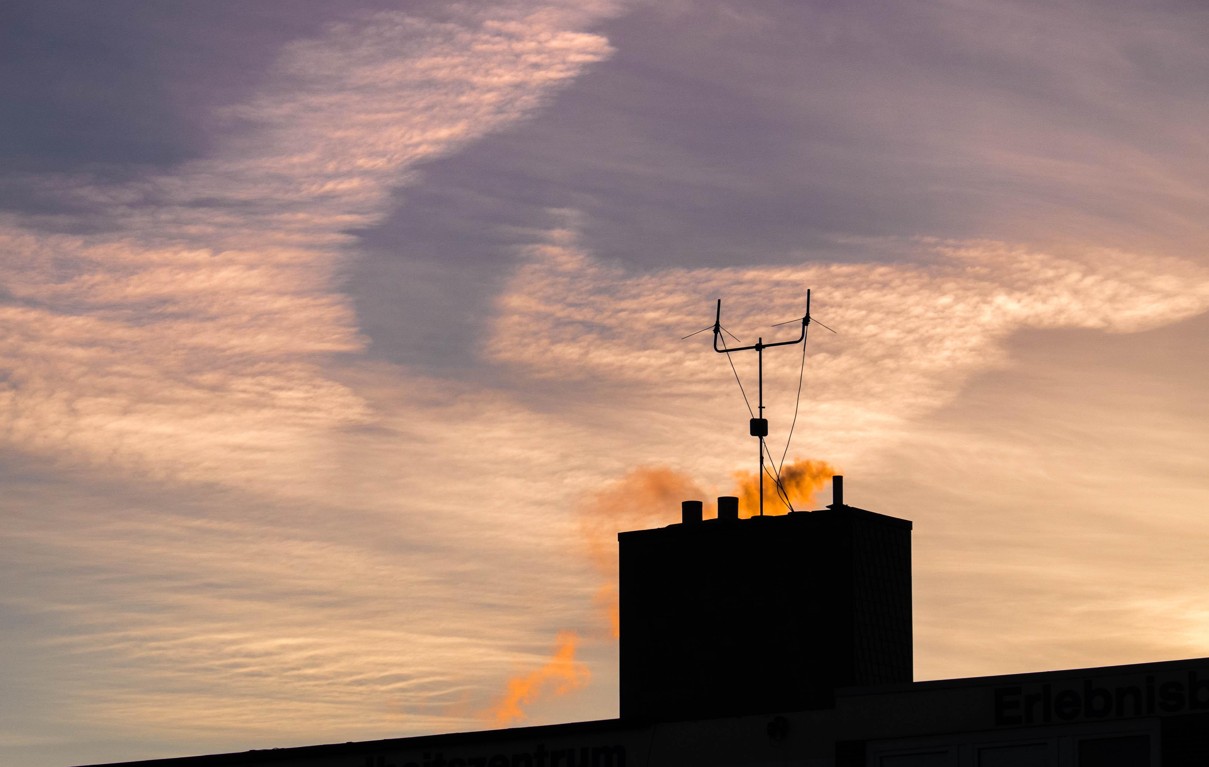 Wolken, Himmel, Wangerooge...