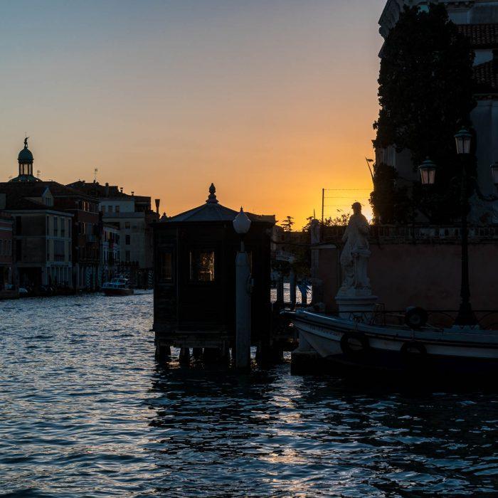 Sonnenuntergang am Canale Grande