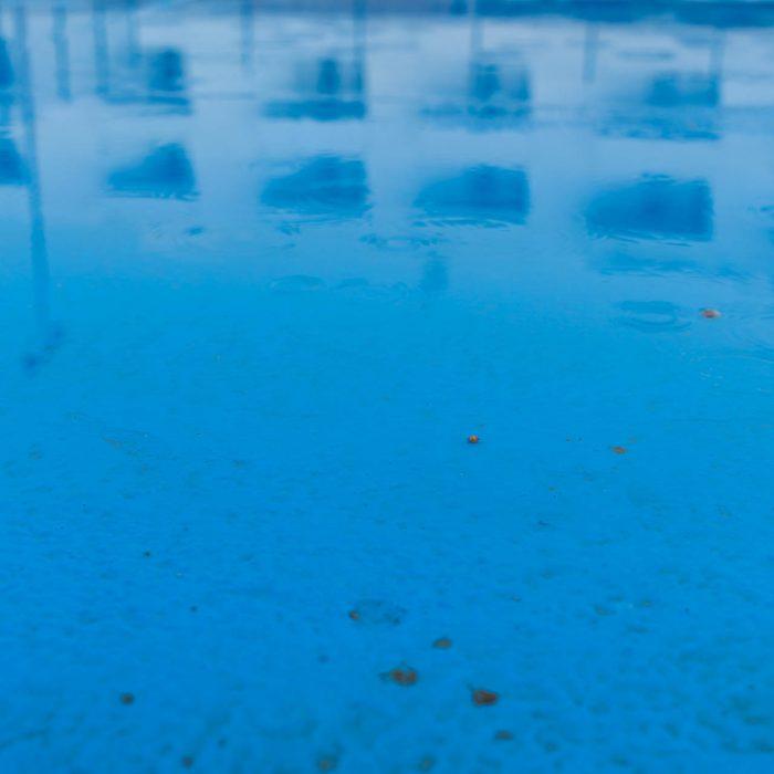 Viel Blau