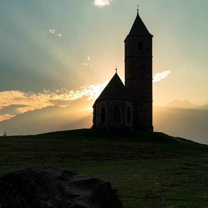 Kirche in Hafling, Südtirol (3)