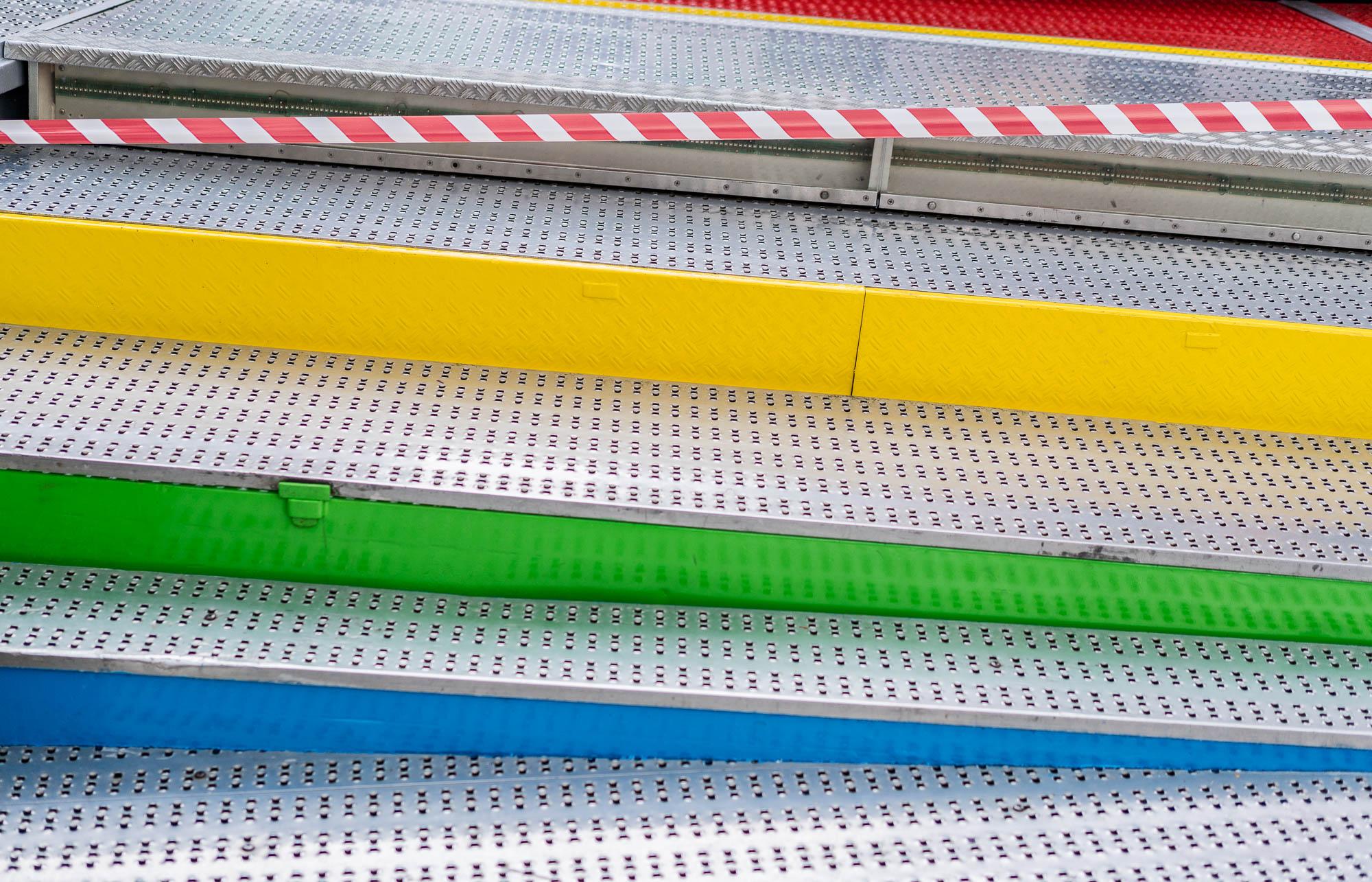 Diagonale Farben