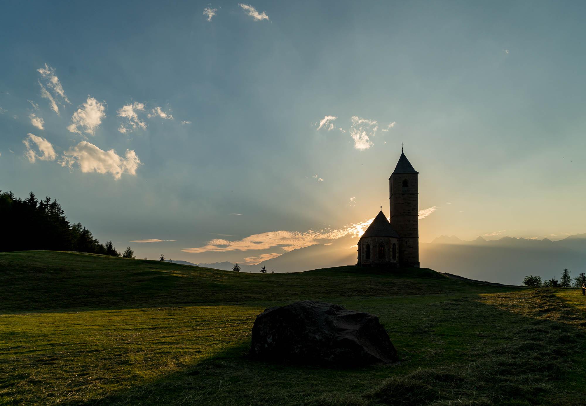 Kirche in Hafling, Südtirol (2)