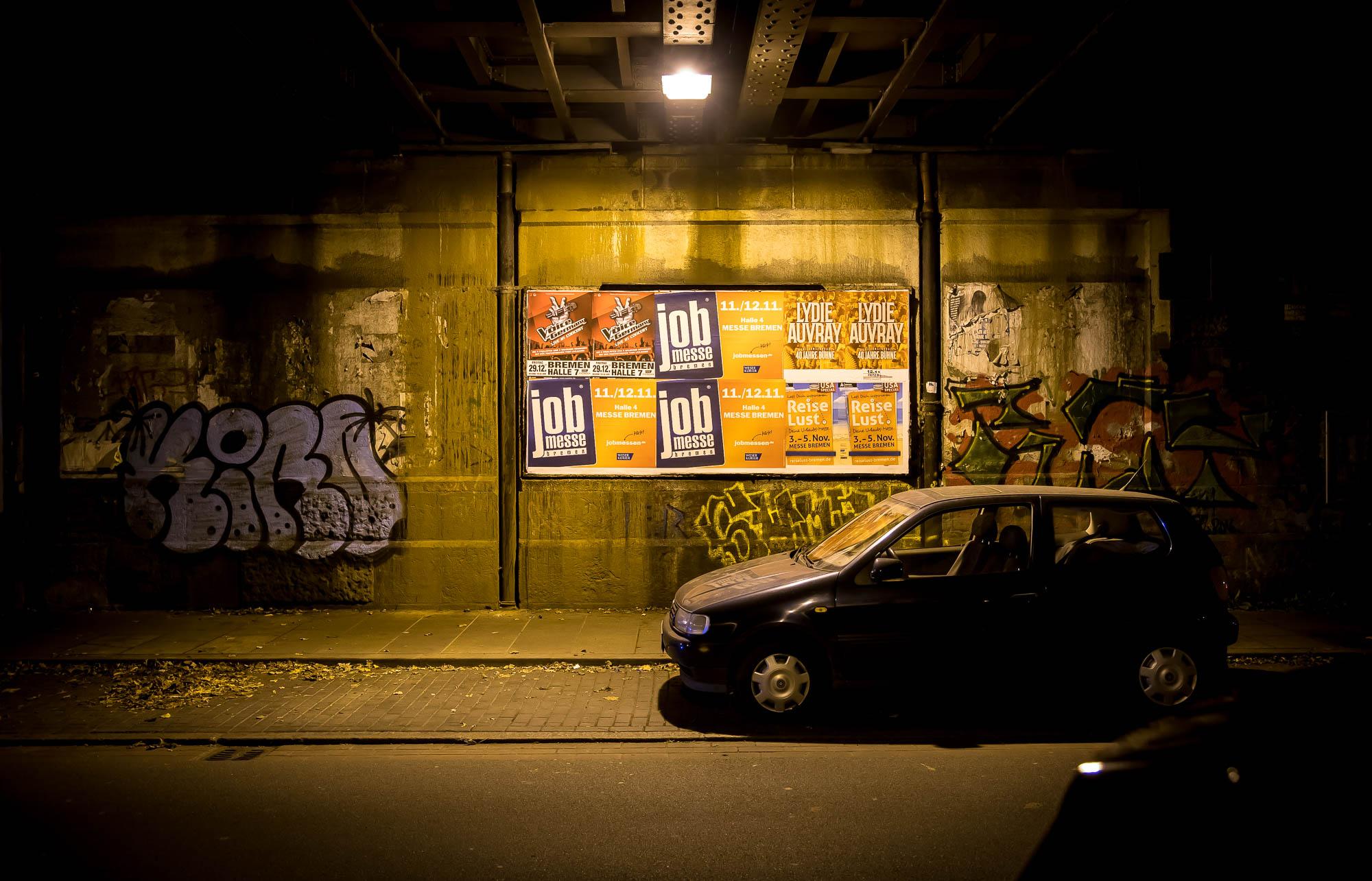 Nachts in der Stadt...